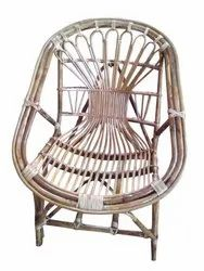 Universal Furniture Brown Bamboo Cane Chair