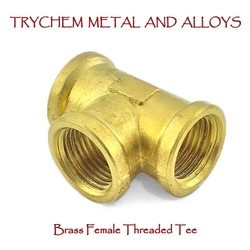 Brass Female Threaded Tee