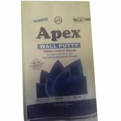 Apex Wall Putty, Packaging Type: Bag