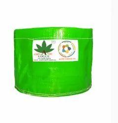Organic Vogue 350 Gsm Green Round Plant Grow Bags