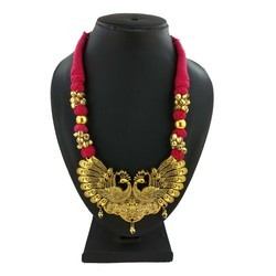 Gold Plating Ghunghuru Necklace