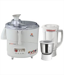 Longway 600 Duro Dlx 2 Jar Juicer Mixer Grinder, Warranty: 1 Year