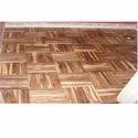 Teak Wood Parquet Floor