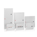 ABB 7Segment DB 8way IP43 With Metal Door Switch