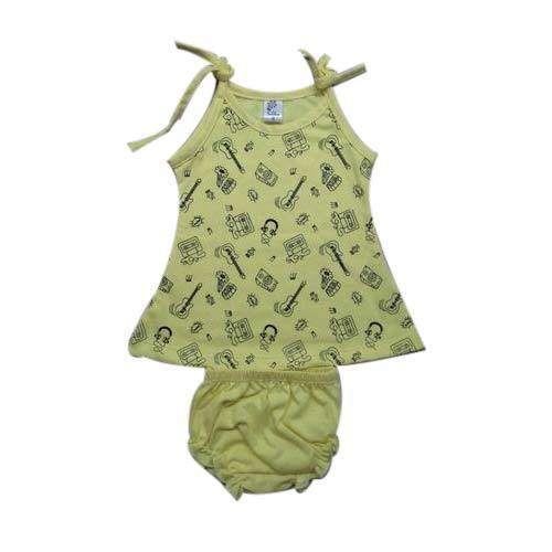 7d1d36d09 Cotton Printed Lemon Color Baby Frock, Rs 79 /set, SR Garments | ID ...