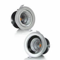 Round Syska LED COB Downlight