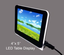 Aum Acrylic LED Table To Display