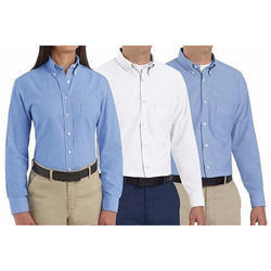 Cotton Plain Corporate Uniform Shirts