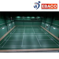 Ebaco Area Elastic Badminton Court Flooring
