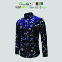 Natural Recycle Organic Cotton Mens Printed Shirts