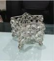 Metal Star Crystal Tea Light Holders From Royal De Wajidsons For Home, Size: 10x10x7cm