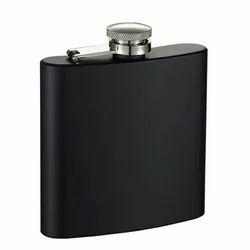 Black Hip Flask