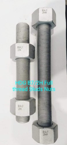 ASTM A193 Gr. B7 HDG Studs