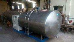 Bulk Milk Chiller Condensing Unit, Capacity: 10000 L