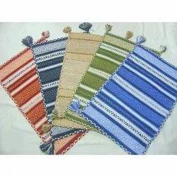 Rajat Overseas Cotton Handloom Durries, Size: 50 X 80 Cm