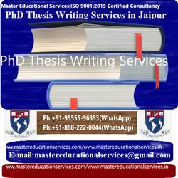 PhD Thesis Writing Services In Jaipur