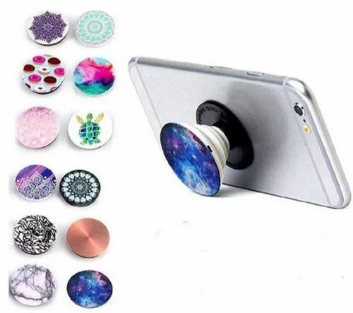 holder socket for phones x 25 white BLANK sublimation pop out phone grip