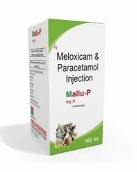 100 Ml Meloxicam And Paracetamol Injection