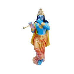 Lord Krishna With Decorative Flute