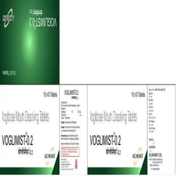 Voglibose Mouth Dissolving 0.2 Mg Tablet