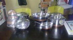 Stainless Steel Vessel Set, Capacity: 0-20 L
