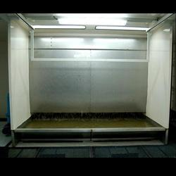 Water Curtain Paint Spray Booth.