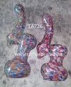 Multi Color Glass Wayet Bubbler
