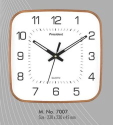 Plastic Square Wall Clock