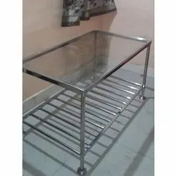 AEM 900 X 450 X 450 Stainless Steel Center Table, Warranty: Long Life
