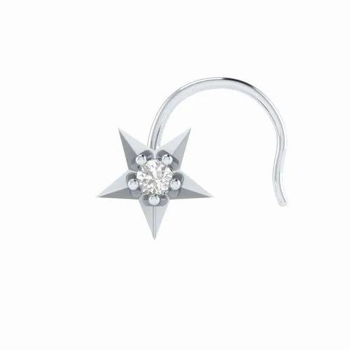 Wedding Np1079 1 70 Di Star Nose Stud Rs 3963 Piece Animas