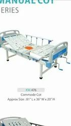Hospital Bed With Commode