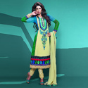Multicolor Ladies Trendy Suit