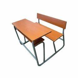 School Bench And Desk