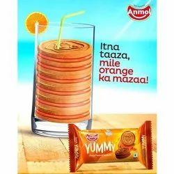 Anmol Yummy Orange Biscuits