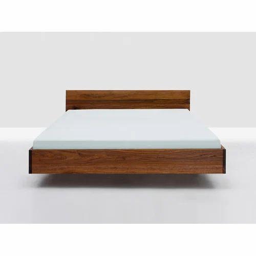 Wood En Floating Bed