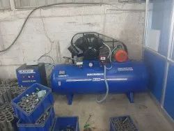 7.5 hp air compressor  500lts