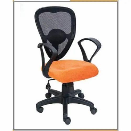 Black Orange Mesh Office Chair Rs 1700 Piece A K Furniture Id 21969386597
