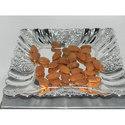 Square Dry Fruit Tray, Packaging Type: Box