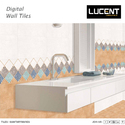 Ceramic Lucent Glossy Vitrified Wall Tile, 0-5 Mm, Size/dimension: 30 X 60 Cm