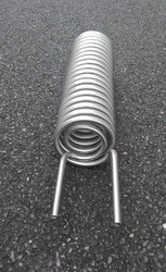 Round Titanium Cooling Coil