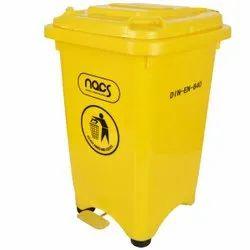 Foot Pedal Plastic Dustbin