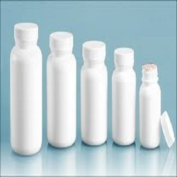 White Plastic Pesticide Plastic Bottle