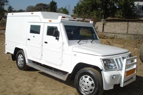 Mild Steel Bullet Proof Cash Van Model Mahindra Bolero Camper Rs