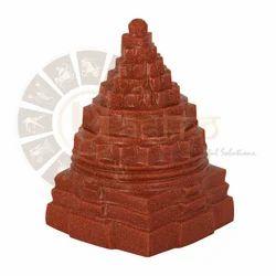Red Sunstone Shree Yantra