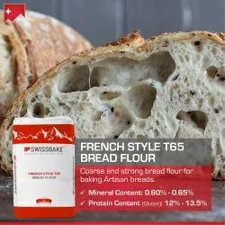 Swissbake T55 French Style All Purpose Bread Flour