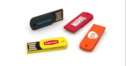 Multicolor Stick Plastic Pen Drive