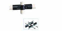 SPCC Steel Metal Pipe Connectors Nickel / Chrome Plated
