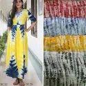 Tie Dye Kurtis Fabrics