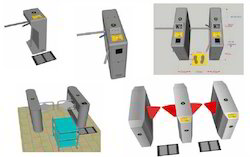 ESD Turnstile Gate Control System