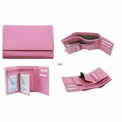 Pink Fancy Ladies Leather Wallets